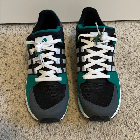 Men's Adidas running shoes. Size 10. Used.